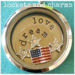 Military lockets and charms