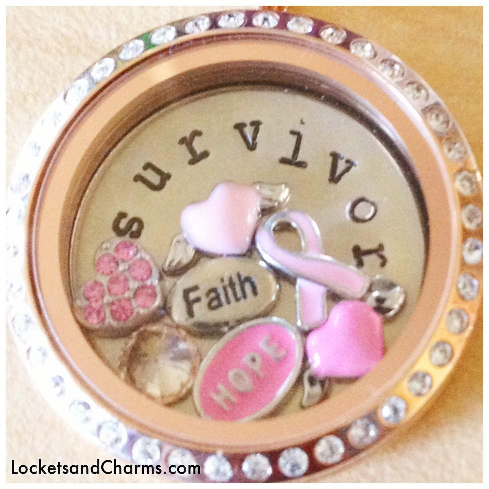 National Breast Cancer Awareness Month Fundraiser Locket