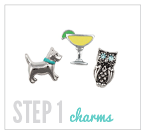 Step 1 Charms Origami Owl