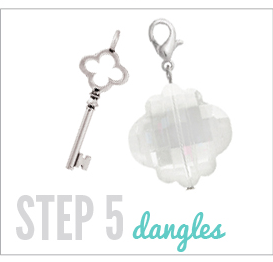 Step 5 Dangles Origami Owl