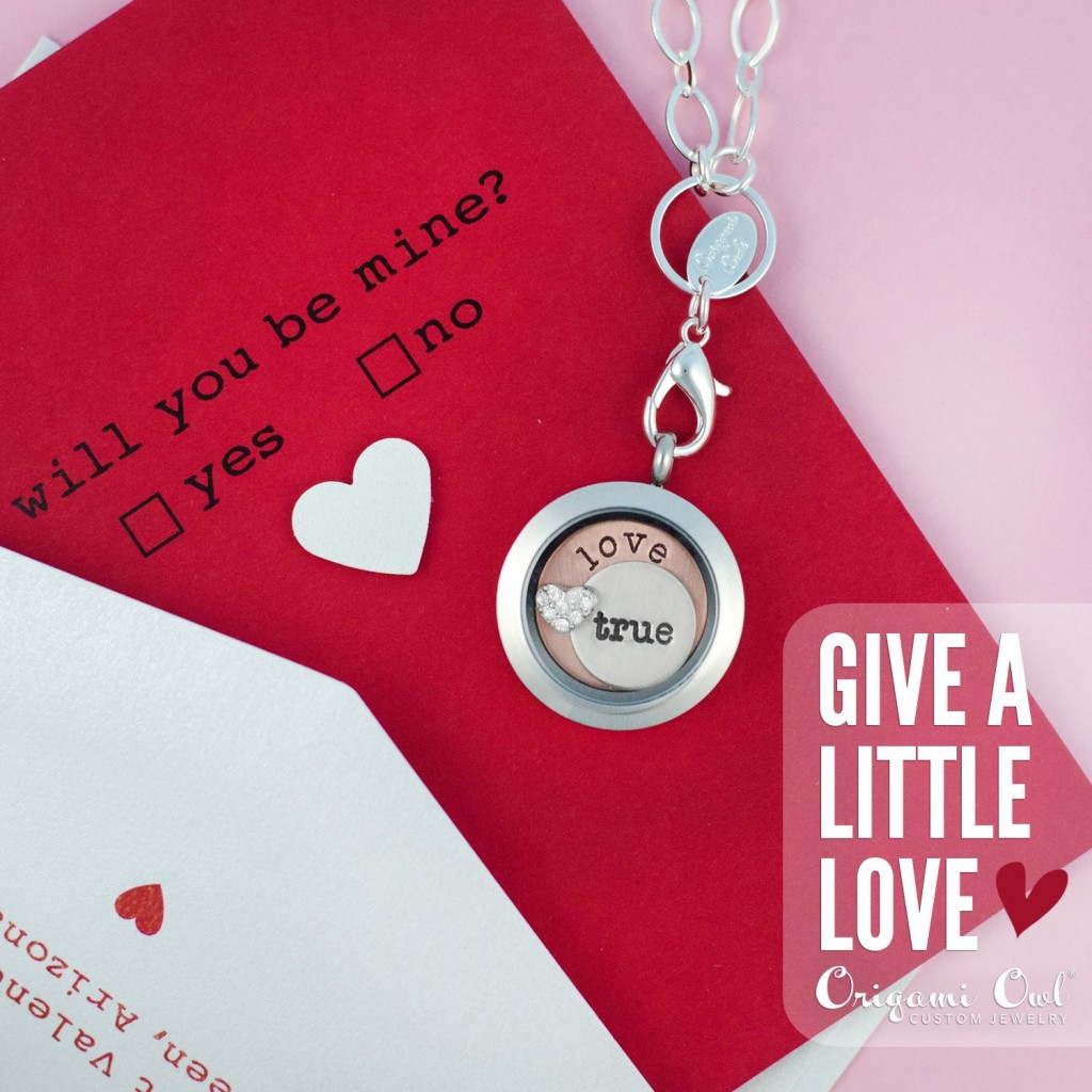 Give a little love origami owl