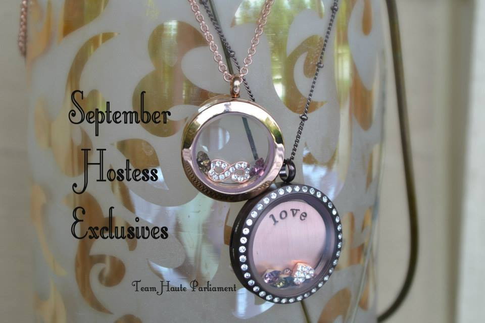 September Hostess Exclusives Origami Owl by Jodie Elliott