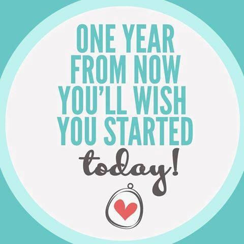 One Year from Now Origami Owl