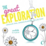Let's Explore all the new things coming in Spring (March 17, 2014) from Origami Owl.