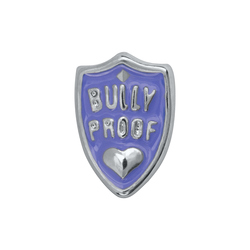 Take a stand against childhood bullying and add this Bully Proof Shield Charm to your Living Locket®. It makes a meaningful statement when paired with the Birthstone Charms of your little ones. Even better, profits from the sale of this Charm will protect a child through the Childhelp Speak Up Be Safe program.