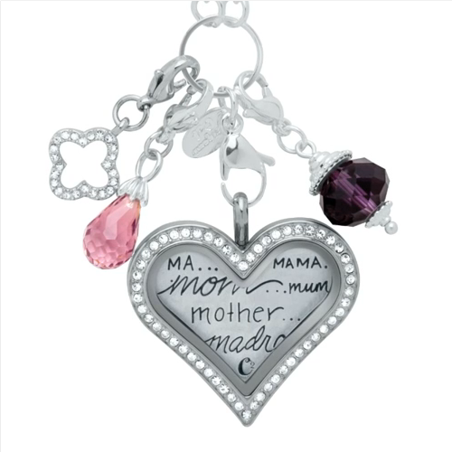 Ma Mama Mama Madre Mother Locket Origami Owl 2014 Locketsandcharms.com