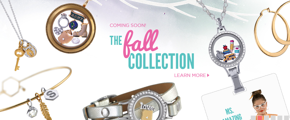 Origami Owl Fall Collection 2014
