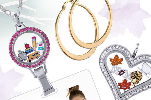 Origami Owl Fall Colllection Lockets and Charms