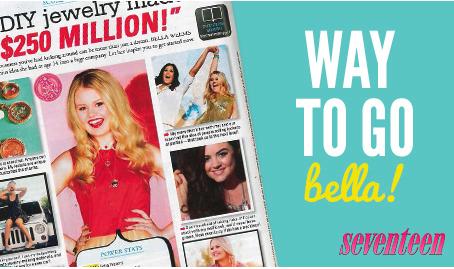 Belle Weems Seventeen Magazine