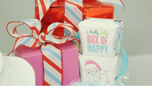 Origami Owl Holiday 2014 Gift Box San Diego