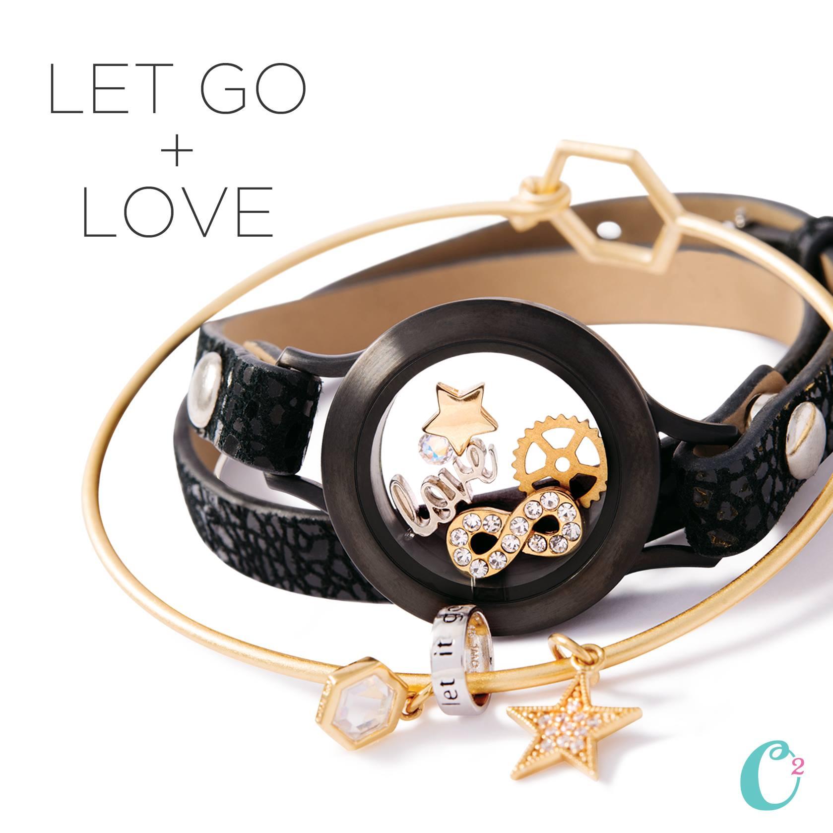 Origami owl bracelets gold