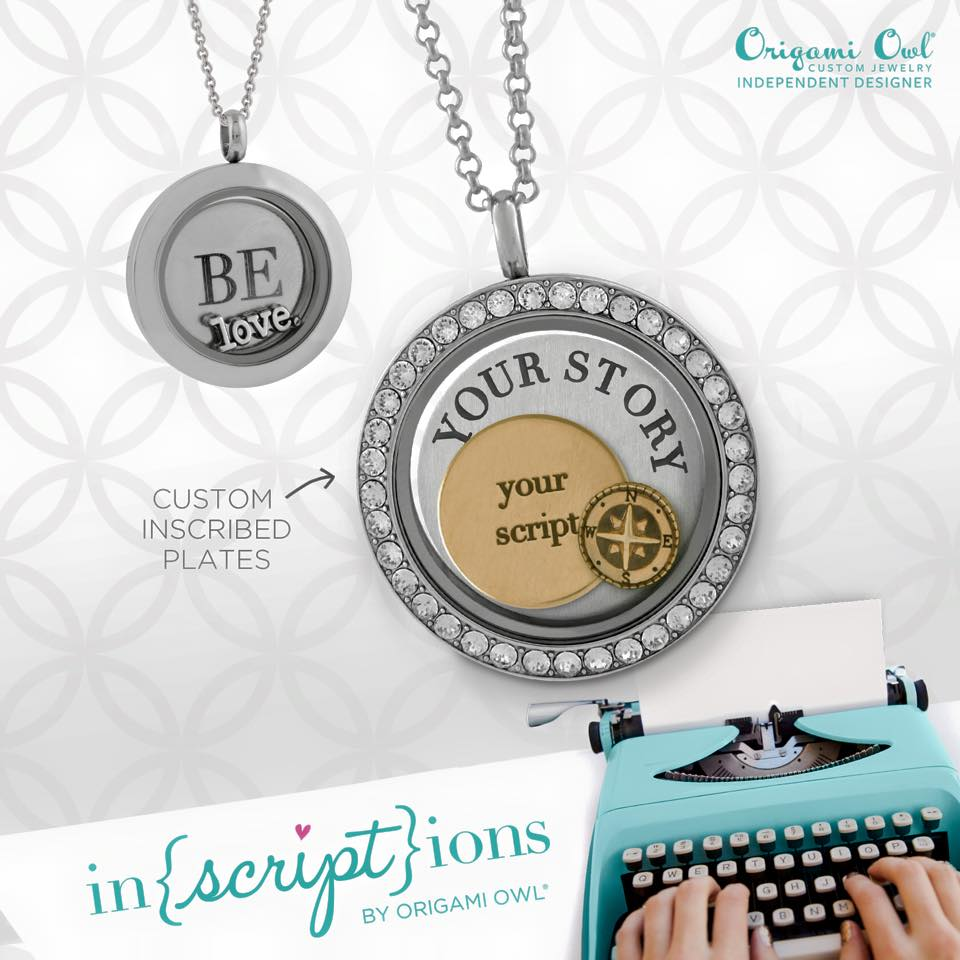 Your Story Origami Owl Inscription Feb 17