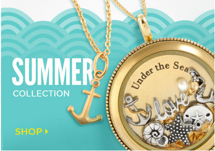 Summer Collection Origami Owl